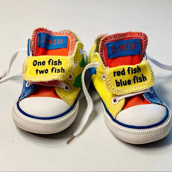 Converse All Star Chuck Taylor Dr Seuss Sneakers 6